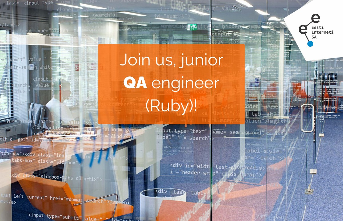 Join us, junior QA-engineer!
