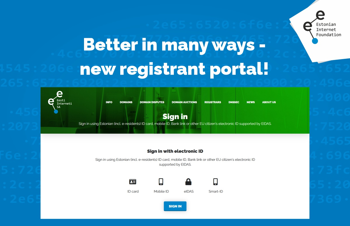 Better in many ways – check out the new registrant portal!