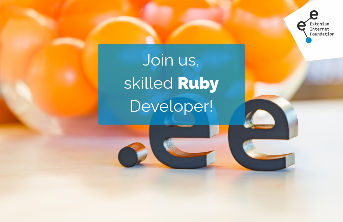 Join us, skilled Ruby developer!